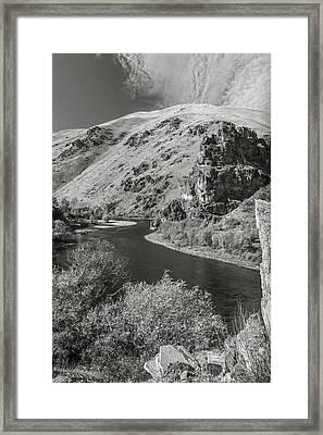 South Fork Boise River 3 Framed Print