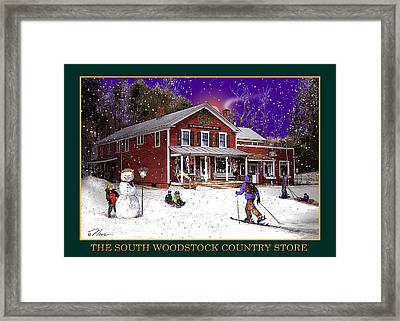 The South Woodstock Country Store Framed Print