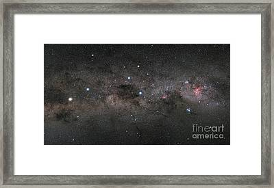 The Southern Cross And The Pointers Framed Print