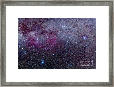 The Southern Milky Way Framed Print by Alan Dyer