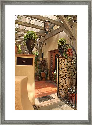 The Spa Framed Print by James Eddy