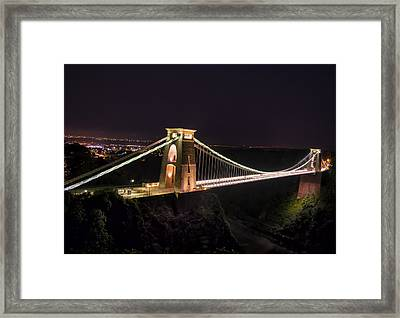 The Span Framed Print
