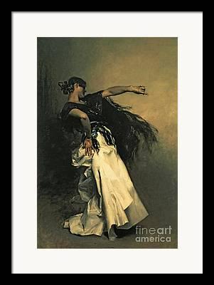 Senorita Framed Prints