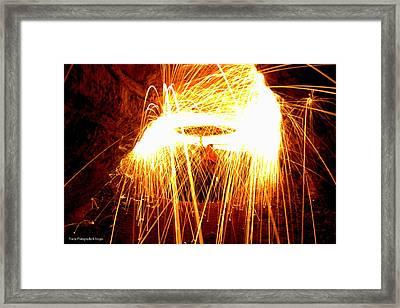 The Spark Framed Print