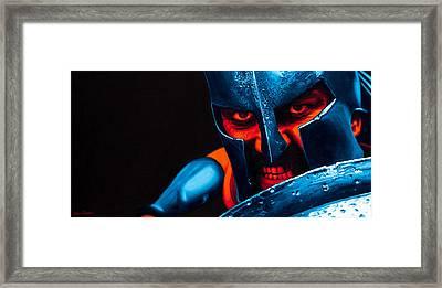 The Spartan Framed Print
