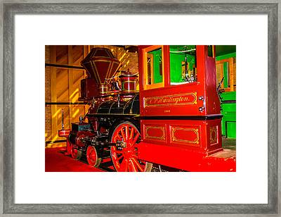 The Special C.p. Huntington Train Framed Print by Garry Gay