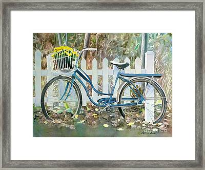 The Special Delivery Framed Print