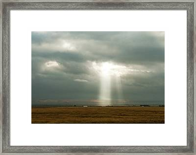 The Spectre Framed Print
