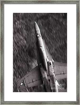 The Speed Of Sound Framed Print by Angel  Tarantella