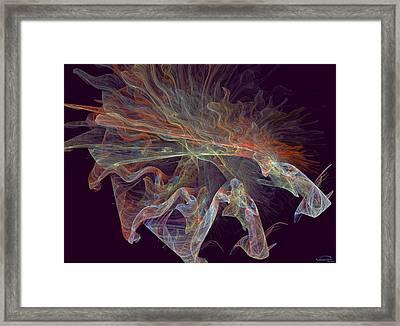The Spell Framed Print by Emma Alvarez