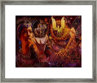 The Spell Masters Framed Print by Steve Roberts