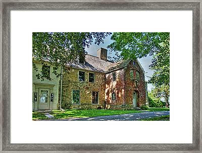 The Spencer-peirce-little House In Spring Framed Print