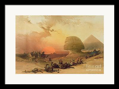 Giza Framed Prints
