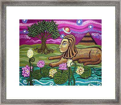 The Sphinx Framed Print by Genevieve Esson