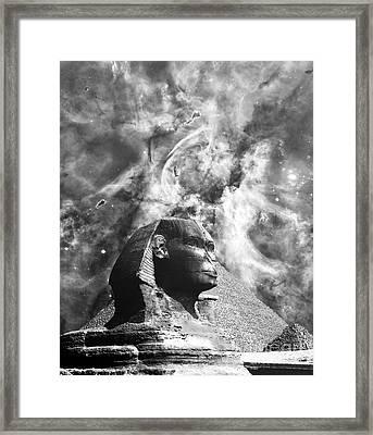 The Sphinx Mistery Framed Print by Stefano Senise