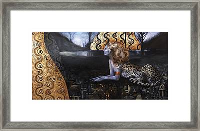 The Sphinx Framed Print by Ragen Mendenhall