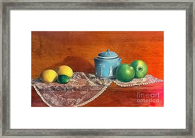 The Spice Jar Framed Print