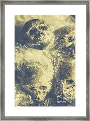 The Spiders Torture Chamber Framed Print