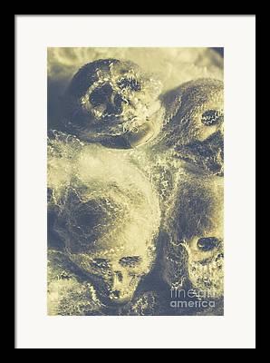 Horror Tale Framed Prints