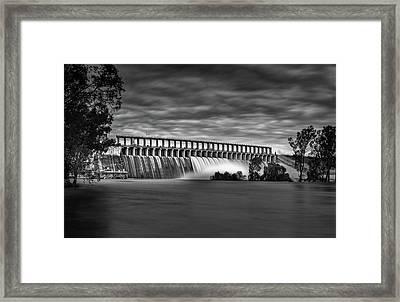 The Spill Framed Print by Mark Lucey