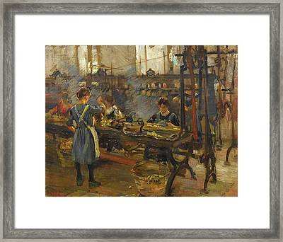 The Spinning Framed Print