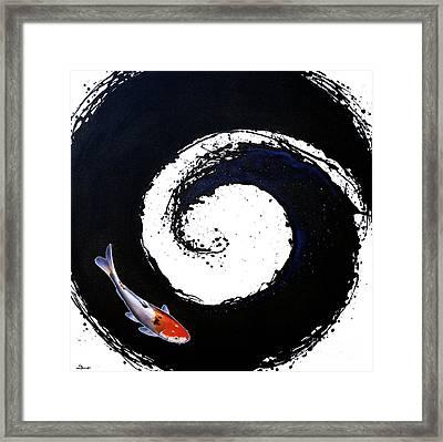 The Spiral 2 Framed Print by Sandi Baker