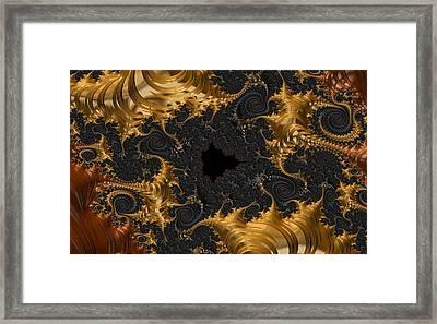 The Spiral Coast Framed Print