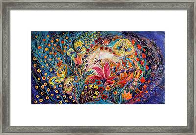 The Spiral Of Life Framed Print