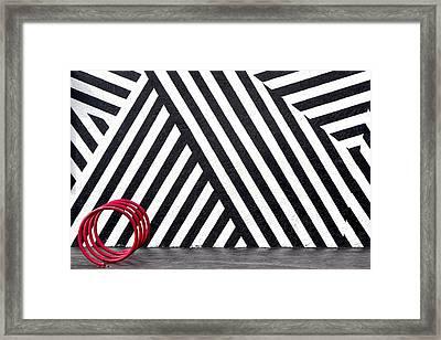 The Spiral Path Framed Print