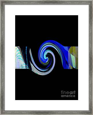 The Spiral Framed Print by Thibault Toussaint