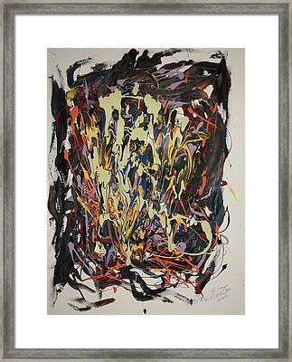 The Spirit Dance Framed Print by Edward Wolverton