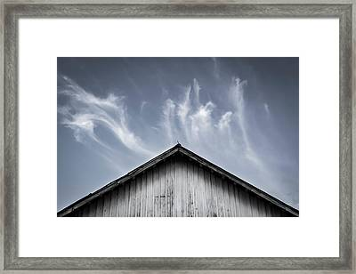 The Spirit Is In The House Framed Print