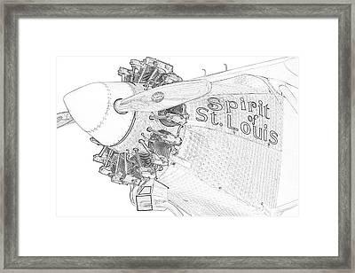 The Spirit Framed Print
