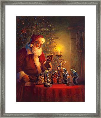The Spirit Of Christmas Framed Print