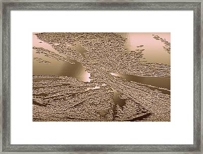 The Spirit Of Light Within Framed Print