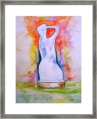 The Spirit Of Manayunk Framed Print by Marita McVeigh