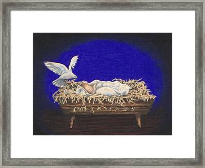 The Spirit Of Peace Framed Print by Laurie Tietjen