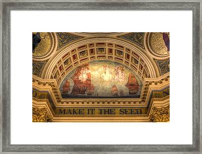 Framed Print featuring the photograph The Spirit Of Religious Liberty by Shelley Neff