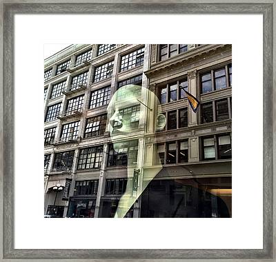 The Spirit Of San Francisco Framed Print