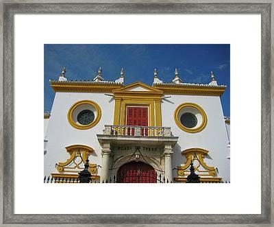 The Spirit Of Sevilla Framed Print by JAMART Photography