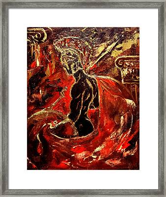 The Spirit Of Sparta Framed Print by Aleksei Gorbenko
