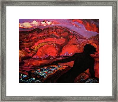 The Spirit Of The Volcano Framed Print by Aleksei Gorbenko
