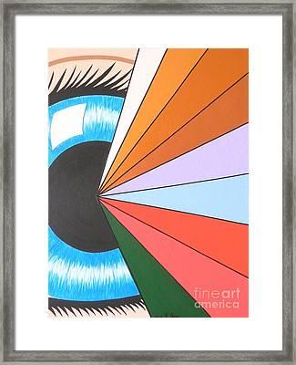 The Spiritual Eye Framed Print