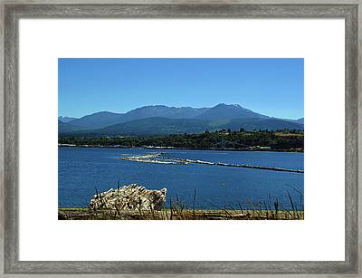 Framed Print featuring the photograph The Spit by Tikvah's Hope