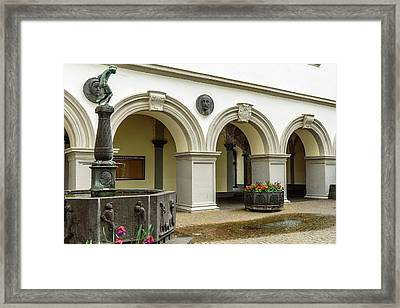 The Spitting Boy - Koblenz - Germany Framed Print by Jon Berghoff