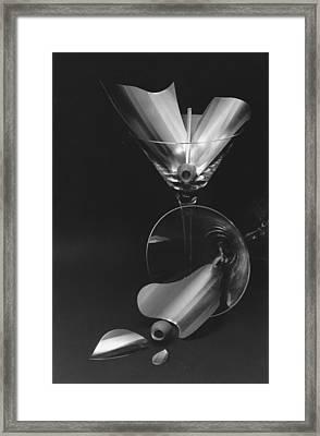 The Splash And The Spill Framed Print