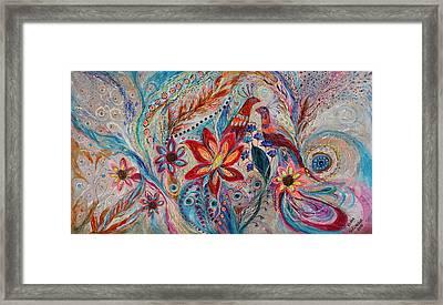 The Splash Of Life 21. The Fragility Of Light Framed Print