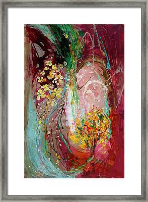 The Splash Of Life 23. The Tree Of Golden Rain Framed Print