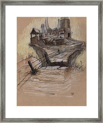 The Splinter Rock Factory Framed Print by Ethan Harris
