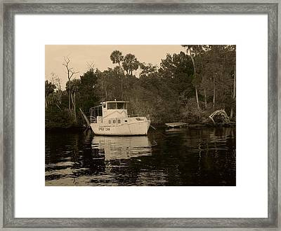 The Spray Can Framed Print by Debbie May